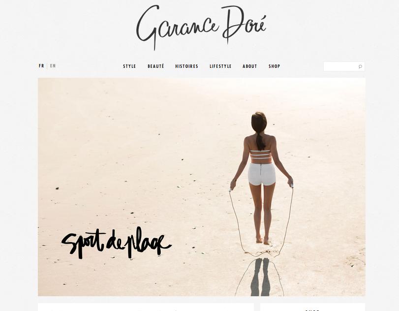 garance dore blog