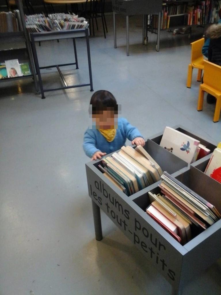 bebe bibliotheque